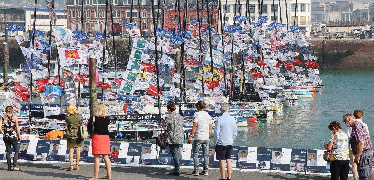 Fécamp. 52e Solitaire du Figaro: coup d'envoi de la troisième étape