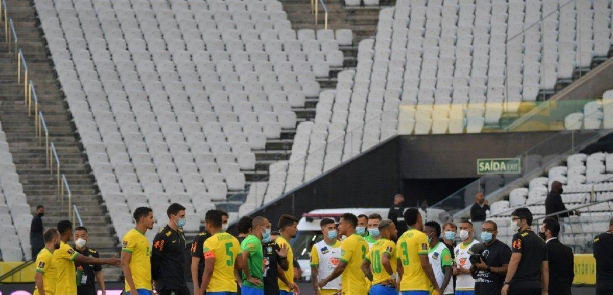 Mondial-2022: Brésil-Argentine interrompu à cause d'un imbroglio sanitaire