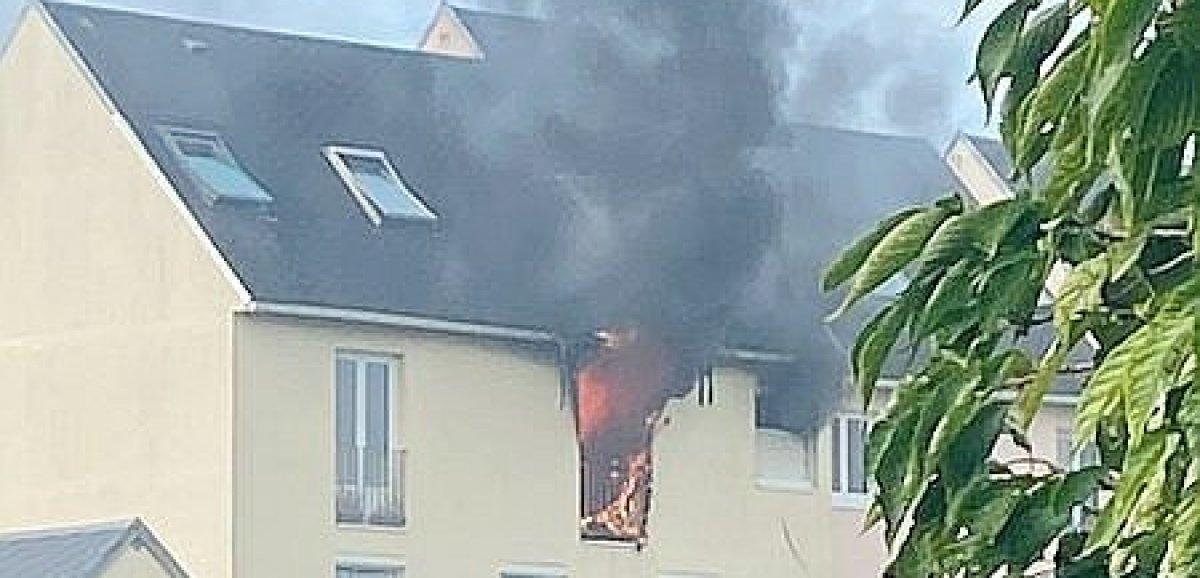 Près du Havre. Brûlé dans un incendie, un homme héliporté en urgence absolue