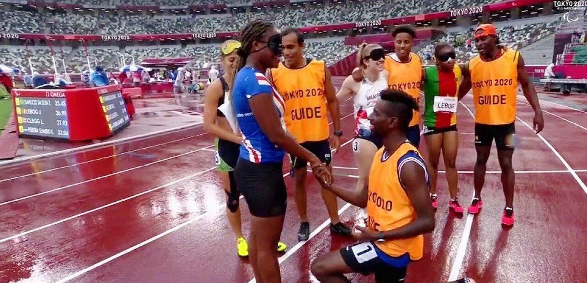 Insolite. Jeux Paralympiques: une demande en mariage sur la piste d'athlétisme