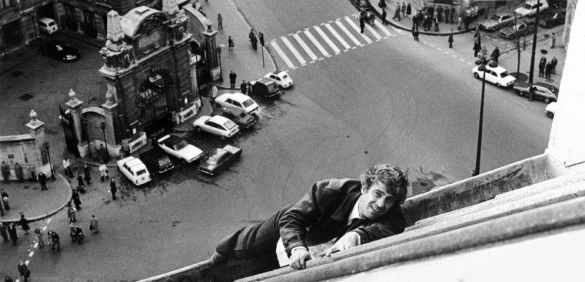 Jean-Paul Belmondo, la cascade dans la peau