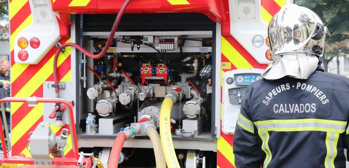 Caen. Troispersonnes relogées après un incendie dans un appartement