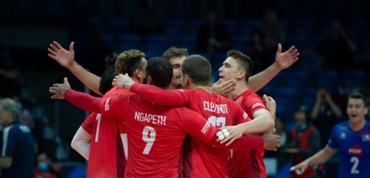 Euro-2021 de volley: les Français déroulent  contre la Lettonie