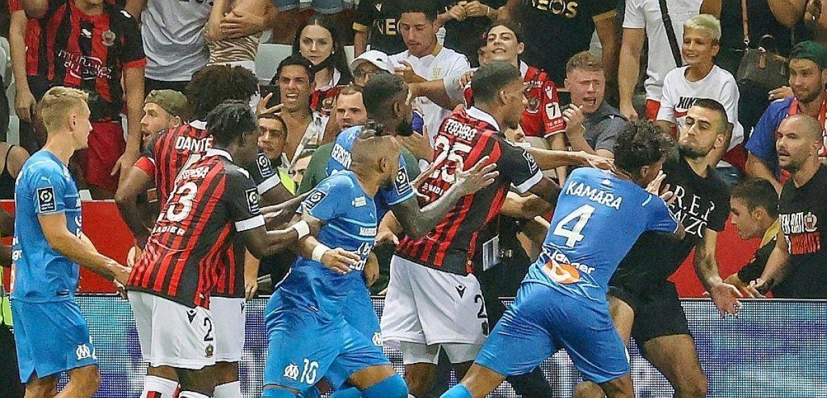 Incidents Nice-OM: la Ligue frappe fort, match à rejouer et un point retiré à Nice