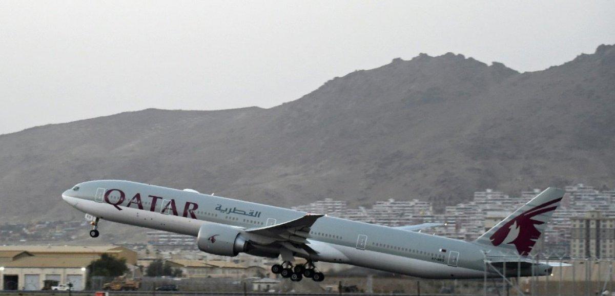 Délivrance pour une centaine de passagers ayant quitté l'Afghanistan