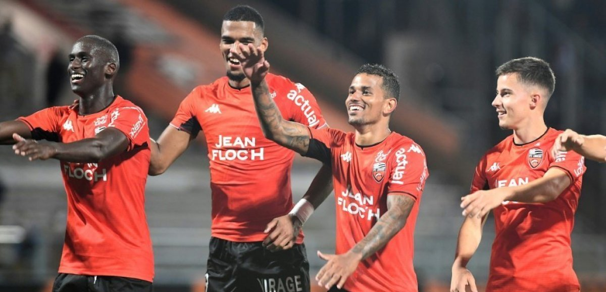 L1: Lille chute 2-1 à Lorient avant la Ligue des champions