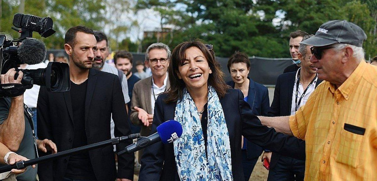 Course à la présidentielle: jour J à Rouen pour Anne Hidalgo