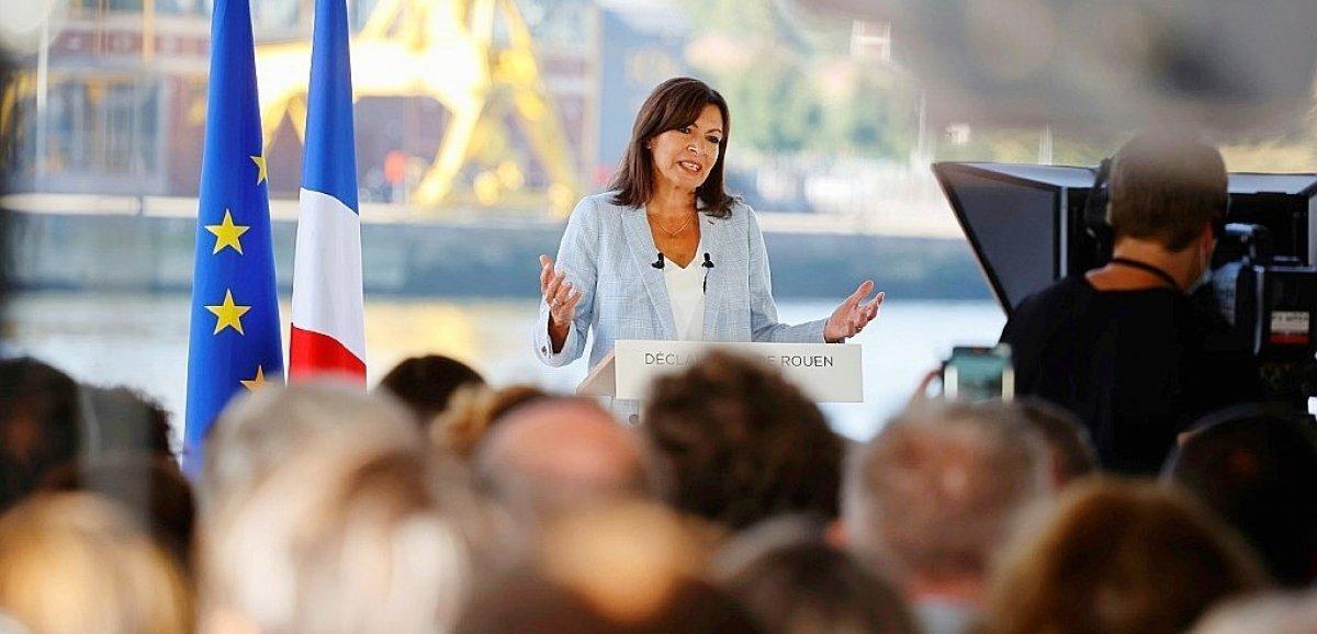 Présidentielle 2022. À Rouen, la socialiste AnneHidalgo a officialisé sa candidature