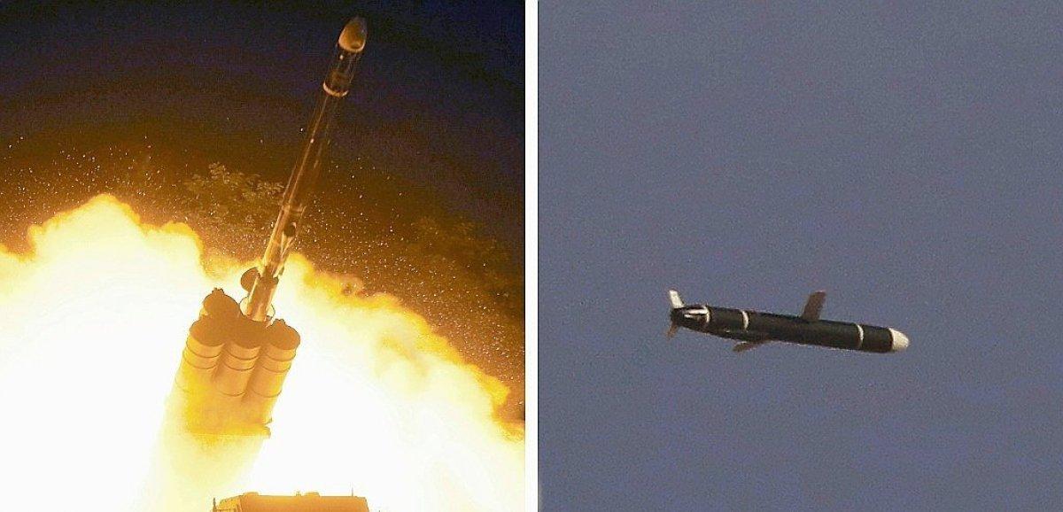 Tir d'essai par Pyongyang d'un nouveau missile de croisière longue portée