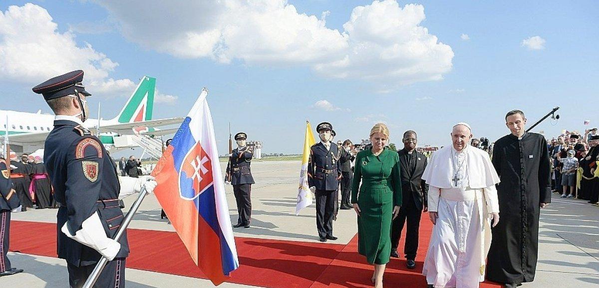 Au coeur de l'Europe centrale, le pape tend la main aux juifs slovaques