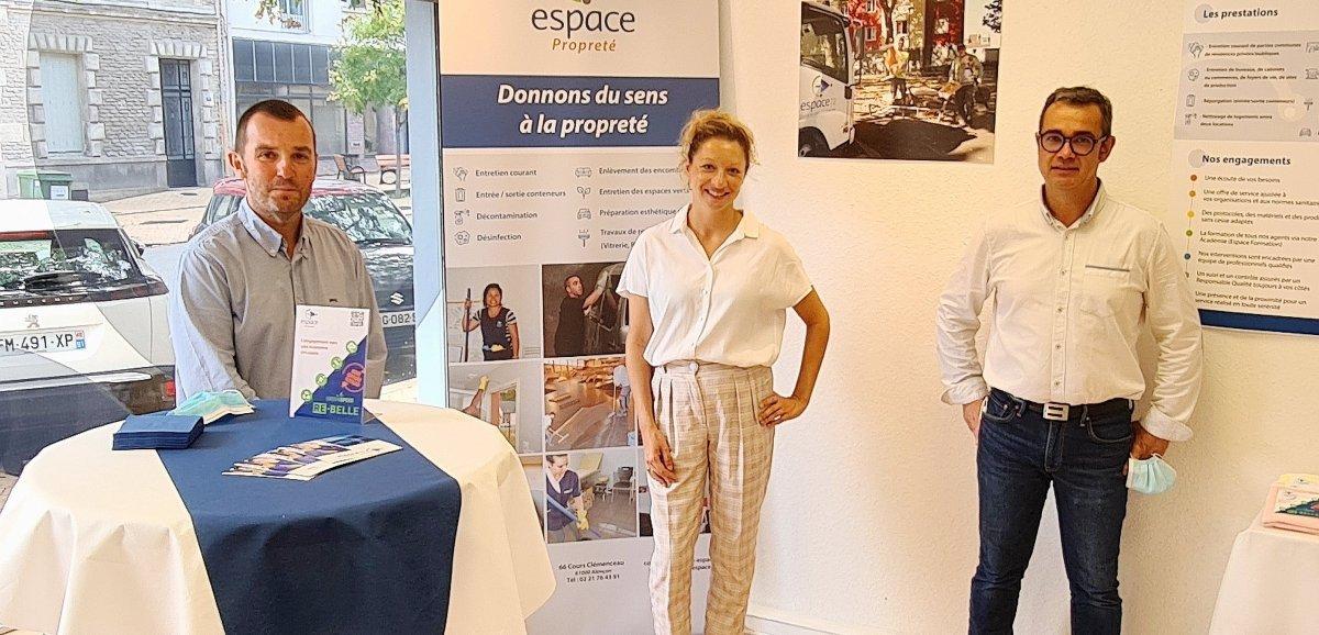 Formation et insertion: EspacePropreté s'installe Cours Clemenceau