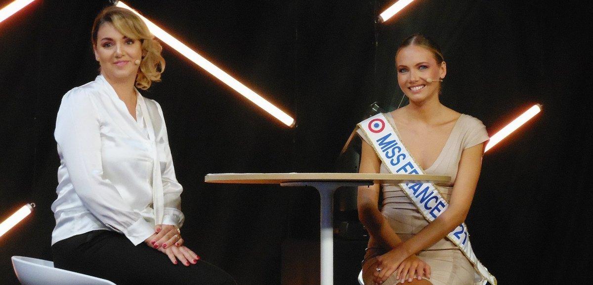 [Photos] Rouen. Les visiteurs du Fêno sous le charme d'Amandine Petit, Miss France 2021