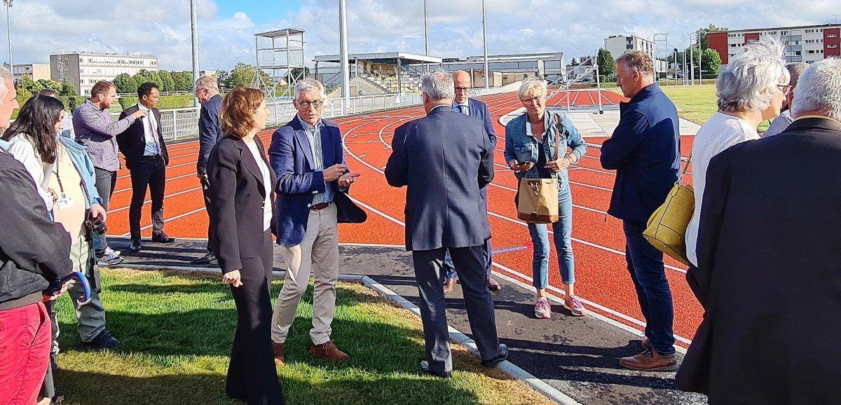 L'Aigle. Les travaux de réhabilitation du stade René Foisy ont été inaugurés