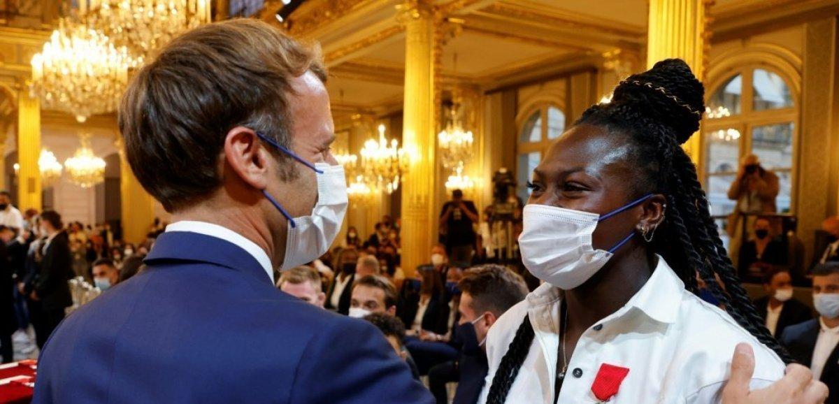Macron aux médaillés de Tokyo :