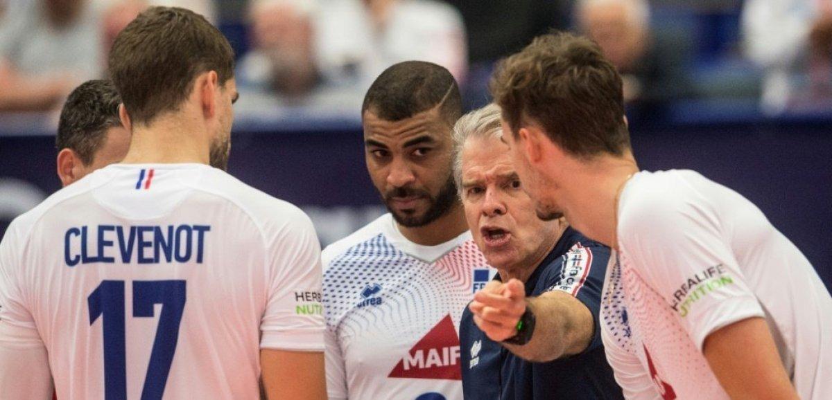 Euro de volley: les Français tombent de haut et dans le piège tchèque en 8e