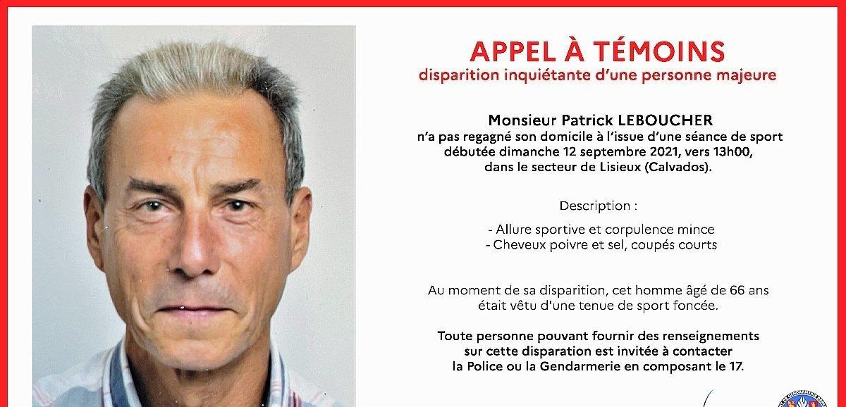 Calvados. Disparition inquiétante d'un homme de 66 ans près de Lisieux