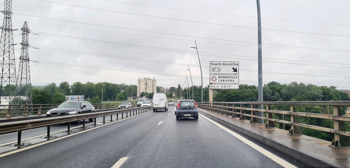 Caen. Viaduc de Calix: cinq conducteurs de poids lourds verbalisés