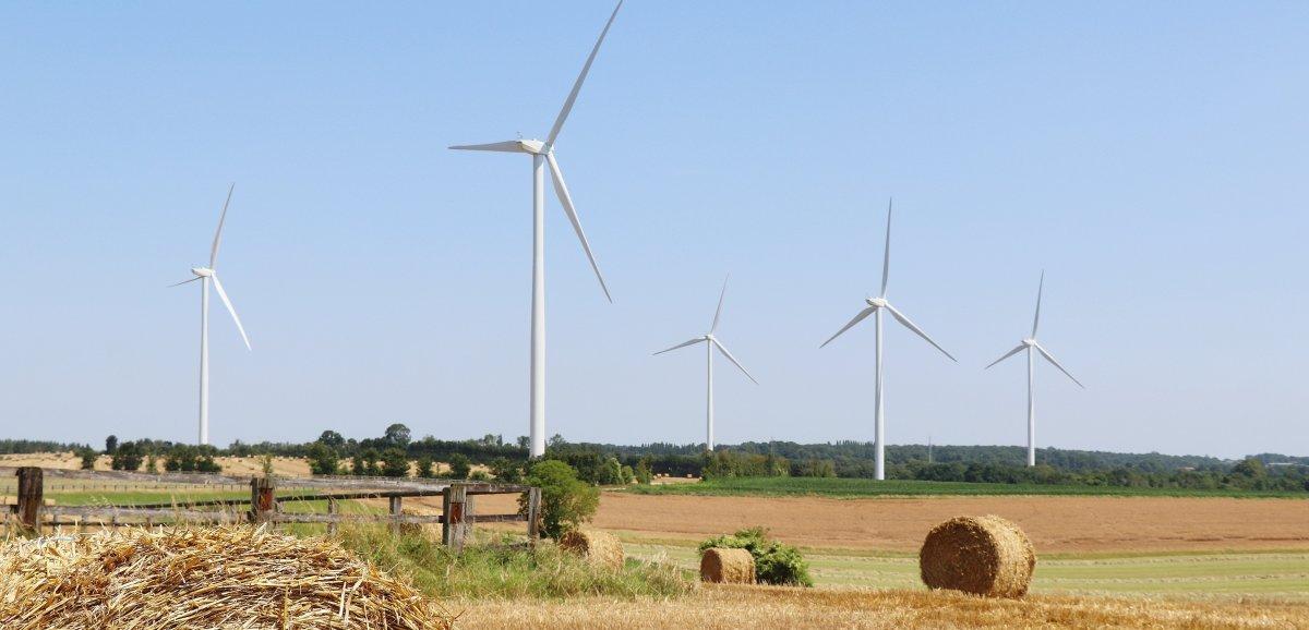 Les mesures de bruit continuent sur le parc éolien