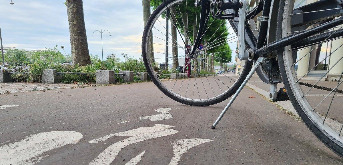 Nouvelle piste cyclable entre Octeville-sur-Mer et Montivilliers