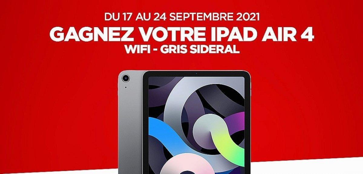 Cadeaux. Cette semaine, gagnez votre tablette iPad Air 4e génération