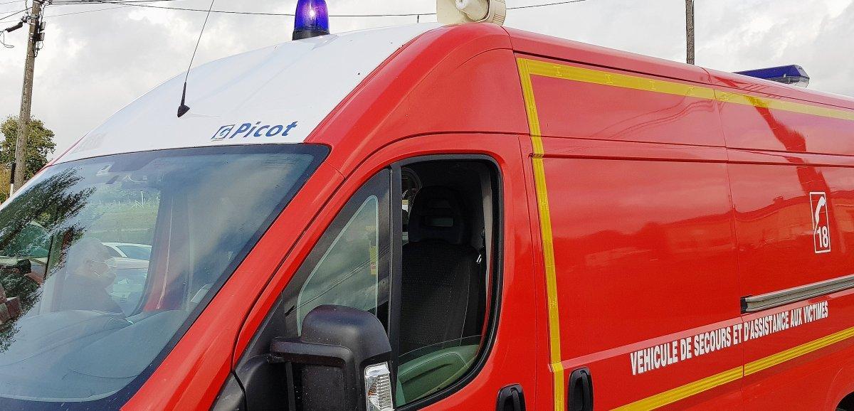 Eure. 40 pompiers mobilisés contre un feu de canalisation dans une entreprise