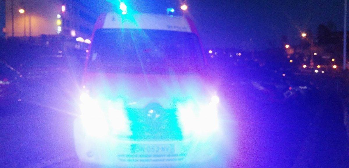Brix. Un motard de 21 ans grièvement blessé dans un accident