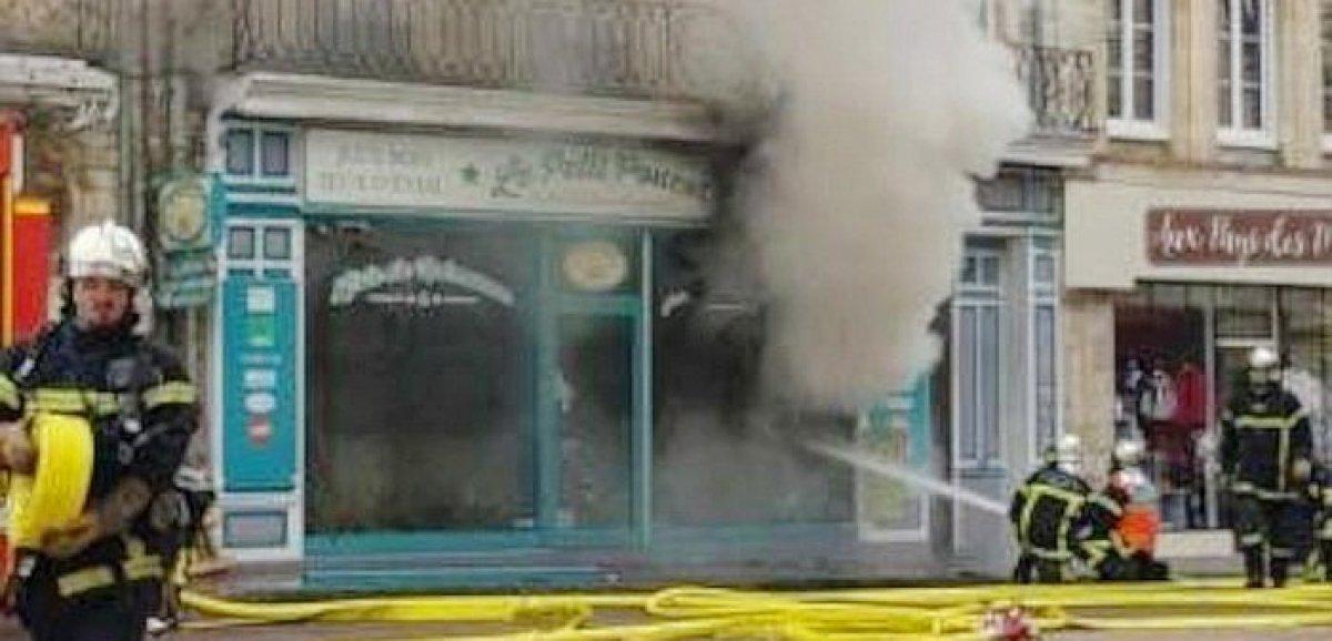 Carentan-les-Marais. Un incendie se déclare dans un magasin de jouets en bois