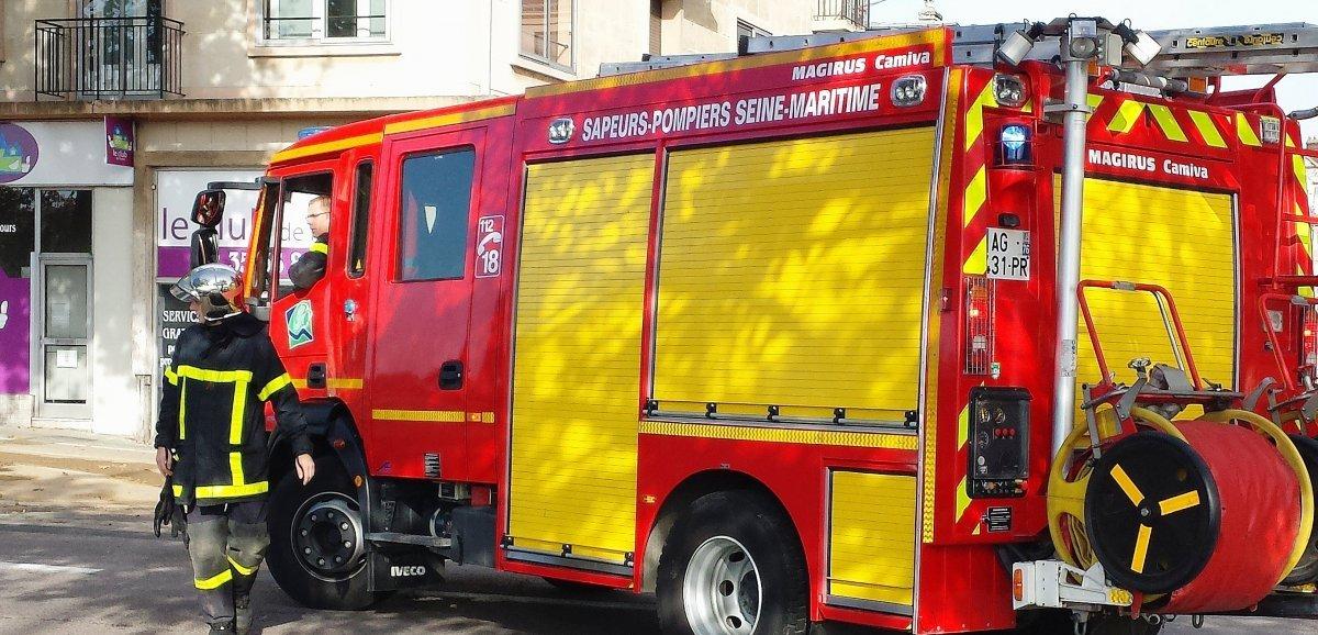 Seine-Maritime. Feu de maison : deux enfants légèrement intoxiqués