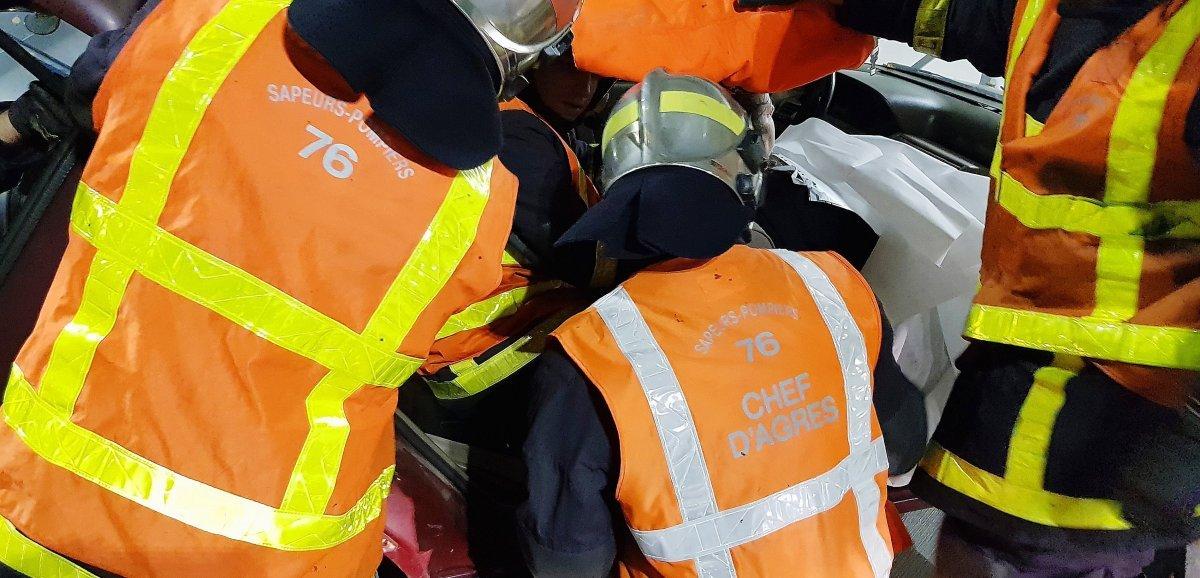 Seine-Maritime. Drame de la route:deux morts dans une collision frontale