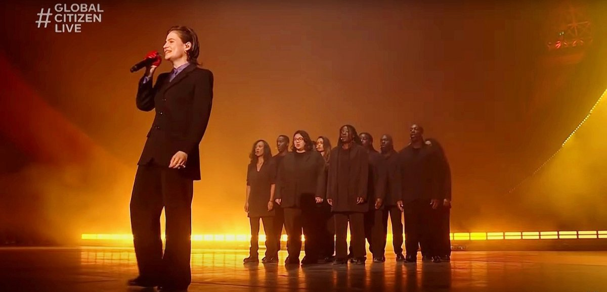 Musique. Christine and The Queens sort un EPaprès leGlobal Citizen Live