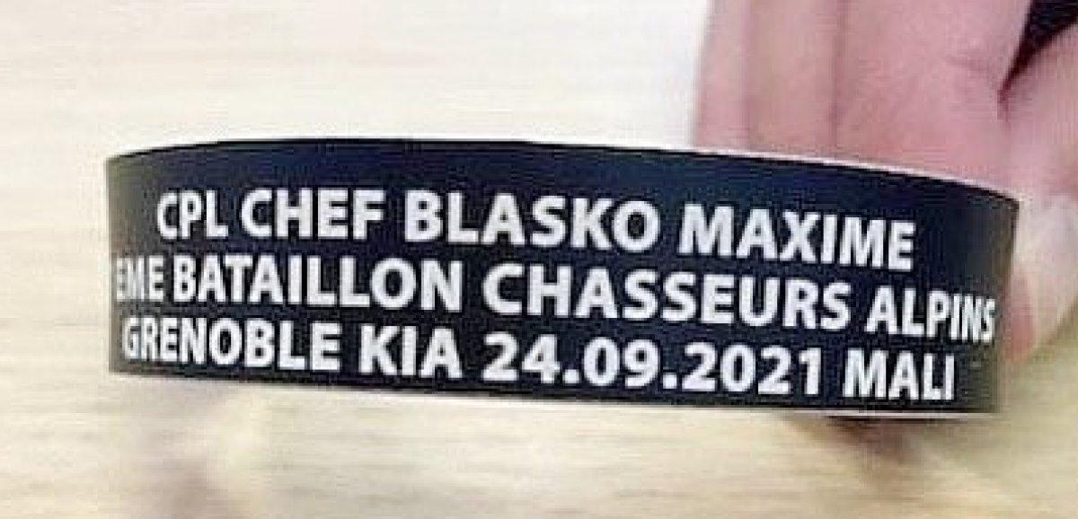 Soldat tué au Mali. UneCherbourgeoise créeunbraceletau nom de Maxime Blasco