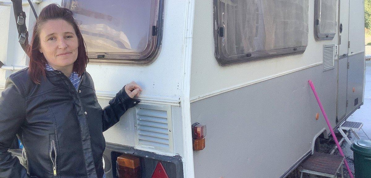 Argences. Privée de toit par un artisan, Aurélie et sa vie en… caravane!