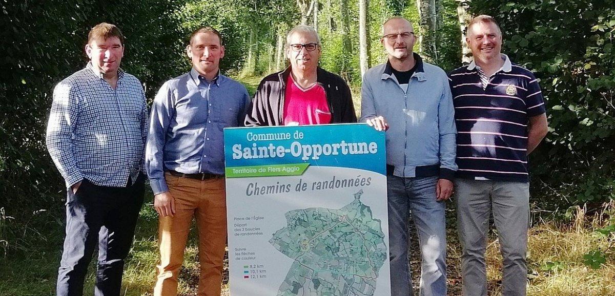 Sainte-Opportune. De nouveaux itinéraires de balade dans le bocage de l'Orne
