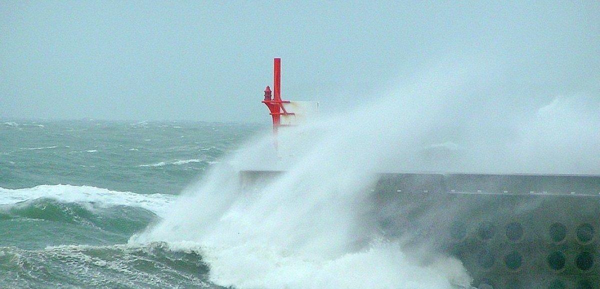 Normandie. Pluies et vents: jusqu'à 112 km/h au cap de la Hague