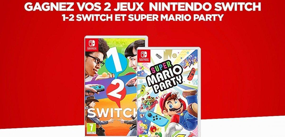Cadeaux. Gagnez vos deux jeux Nintendo Switch chaque jour cette semaine