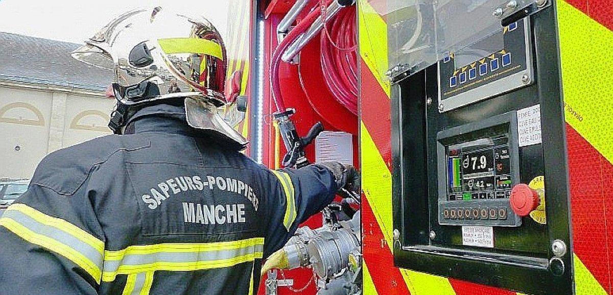 Montebourg. Près de 30 personnesévacuées à cause d'un incendie