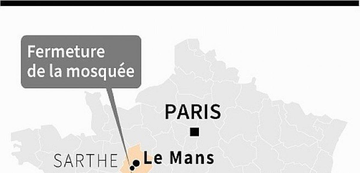 Le préfet de la Sarthe ferme la mosquée d'Allonnes, soupçonnée de radicalisation