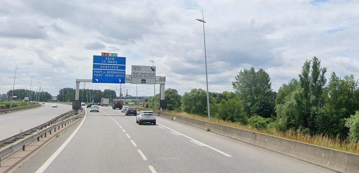 Port du Havre. Embouteillages au giratoire de l'A29: des feux pour réguler le trafic