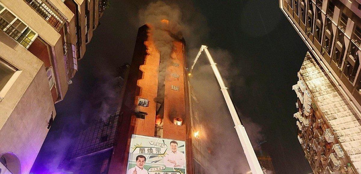 Taïwan: 46 morts dans l'incendie d'un immeuble