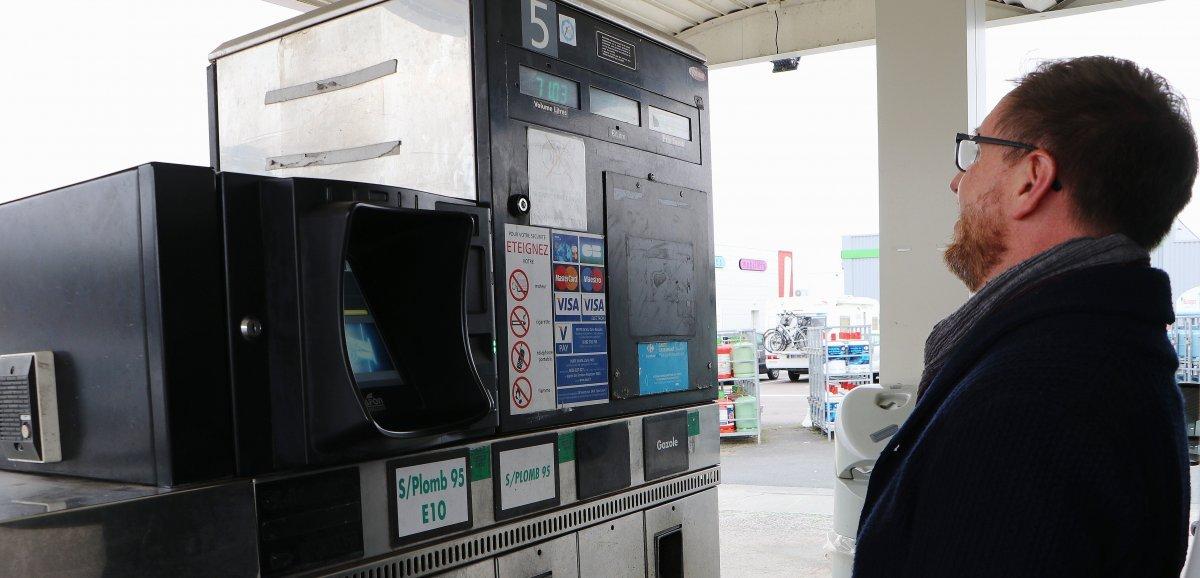 """Caen. Flambée du prix du carburant: """"Je regroupe mes déplacements"""""""