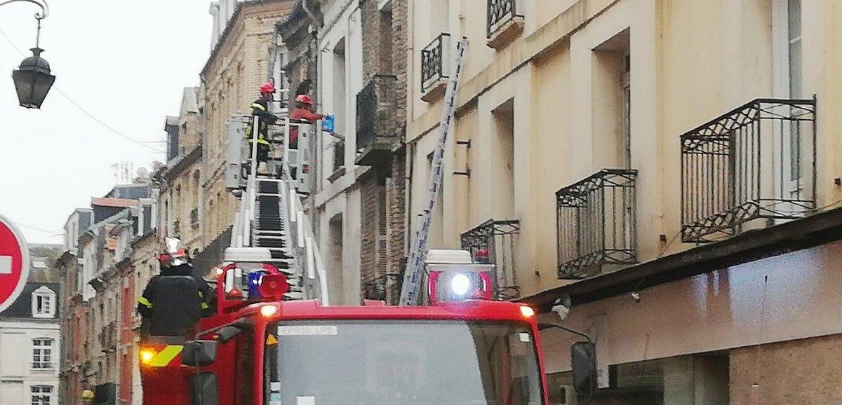 Dieppe. Les pompiers interviennent pour tenter de sauver le chat Marius