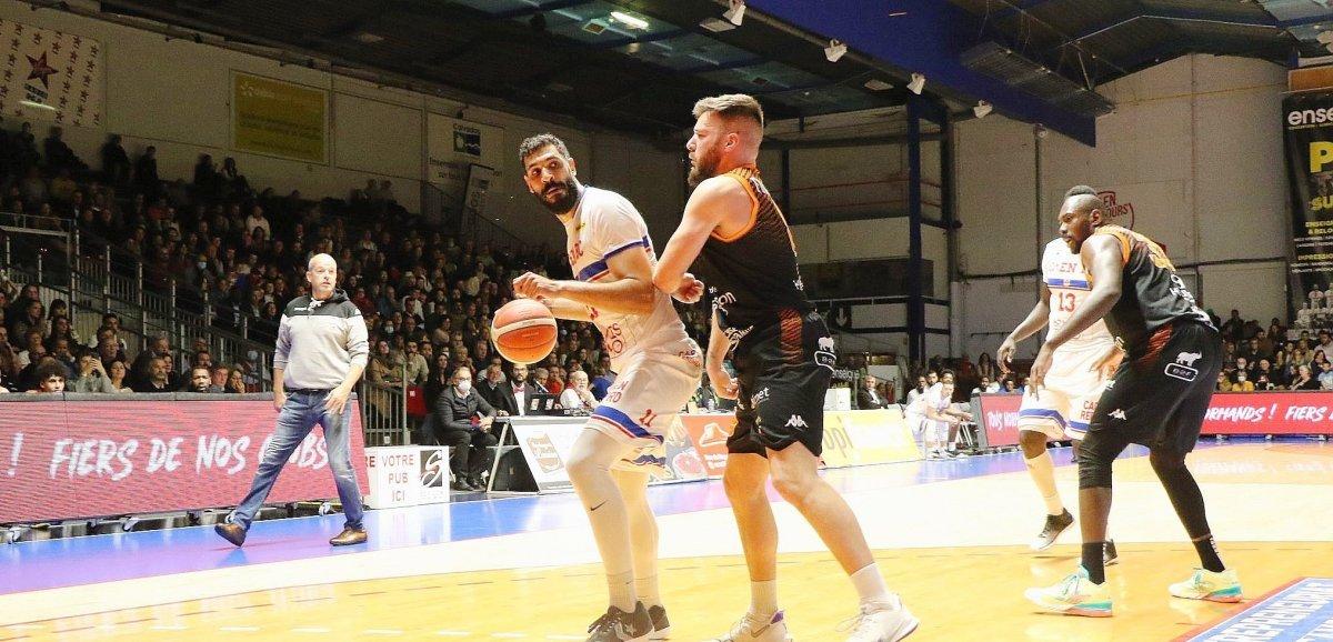 Basket(N1M). Le Caen BC gagne un duel à couteaux tirés à Andrézieux