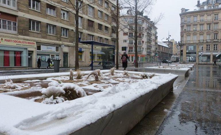 Transports en commun : le réseau de Rouen perturbé par la neige