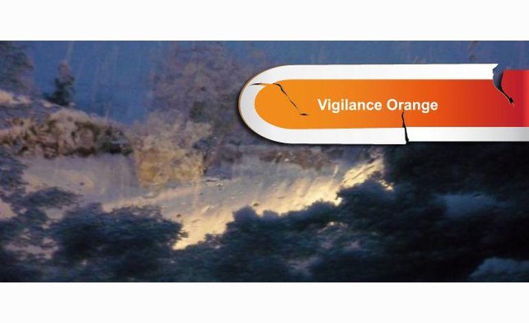 Alerte orange à la neige en Normandie, nouveau bulletin
