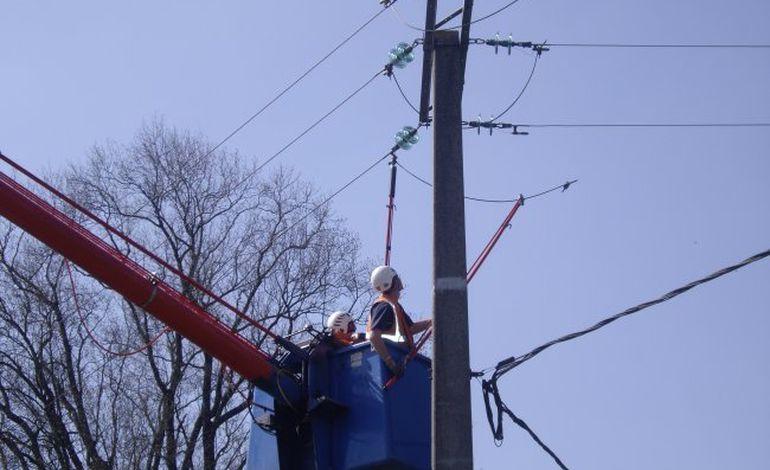 La distribution d'électricité perturbée