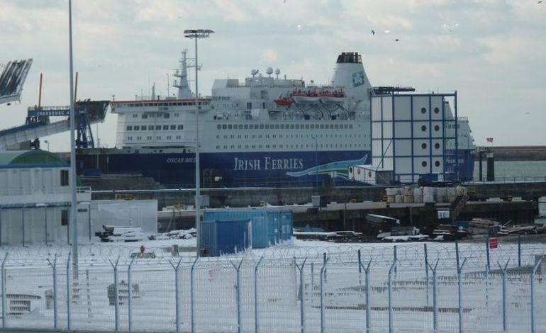 Neige : 48 heures bloqués sur un ferry à Cherbourg !