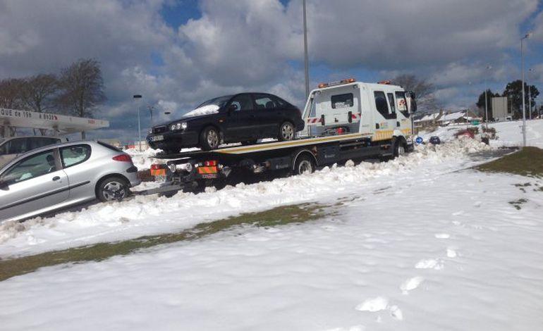 Renault Cherbourg réquisitionné sur la RN13