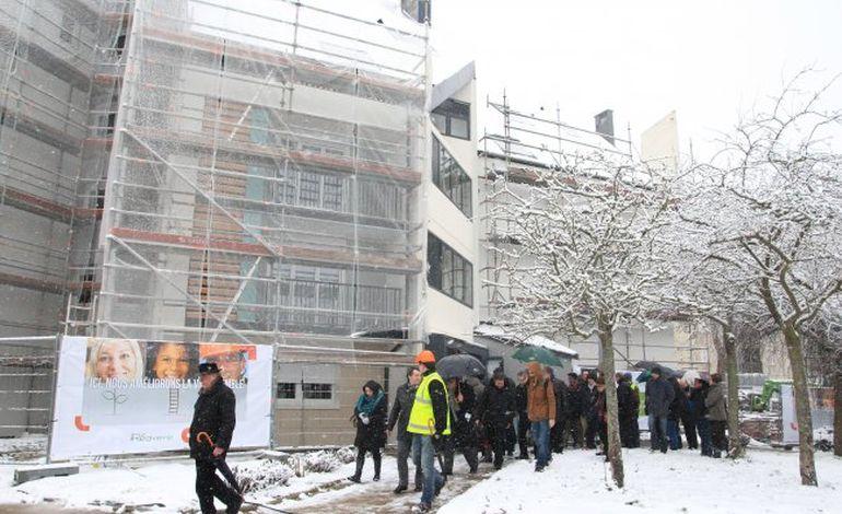 Caen : la réhabilitation thermique se poursuit à la Folie-Couvrechef