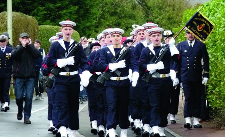 Une préparation militaire à Epron