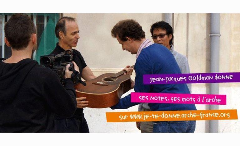 Jean-Jacques Goldmann rencontre l'Arche ....